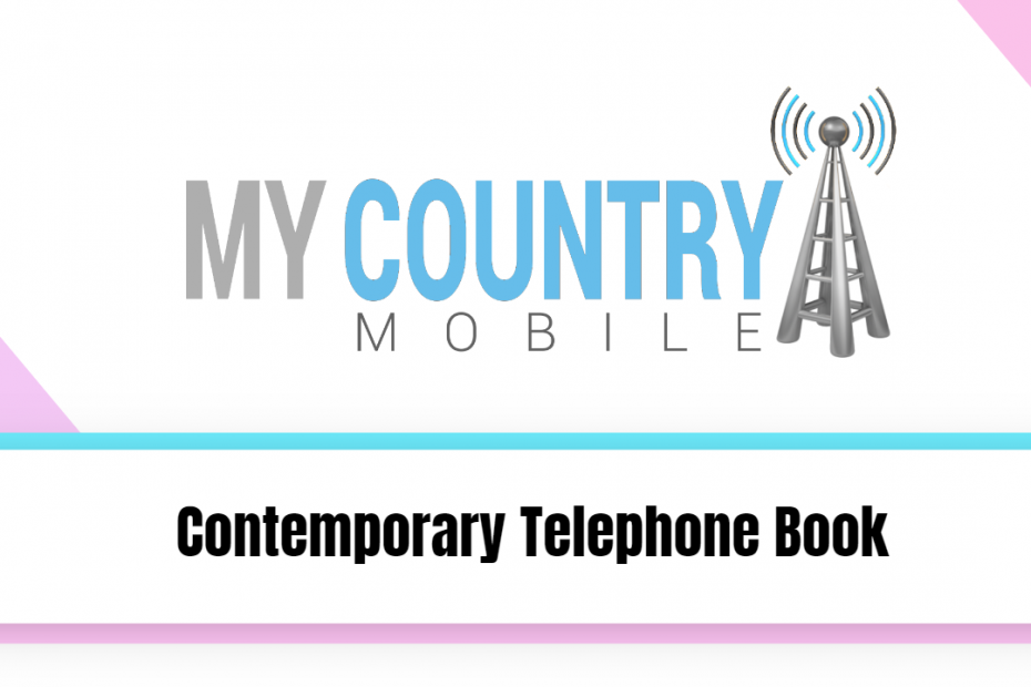 Contemporary Telephone Book - My Country Mobile
