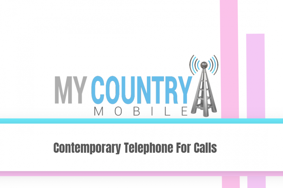 Contemporary Telephone For Calls - My Country Mobile