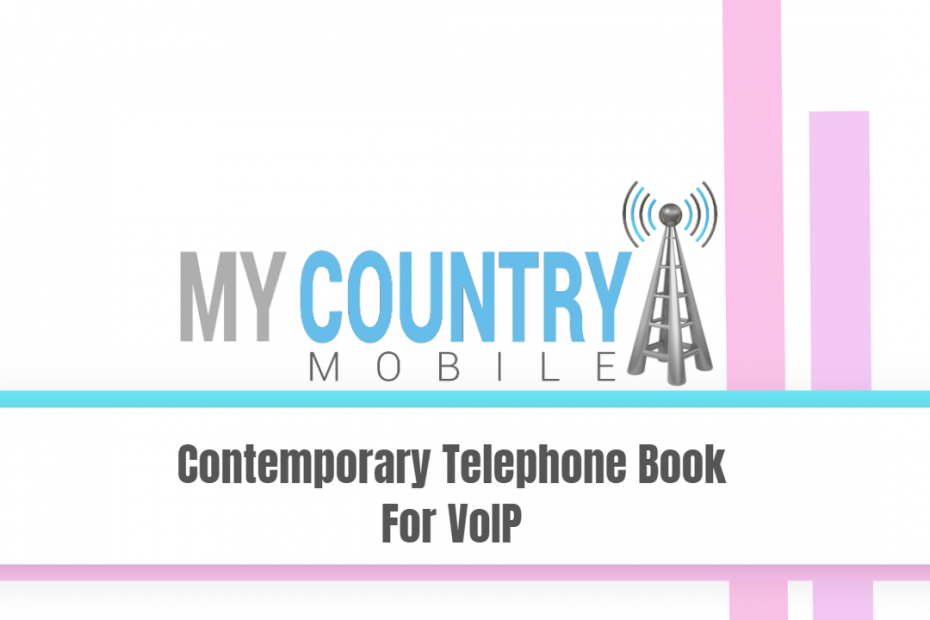 Contemporary Telephone Book For VoIP - My Country Mobile